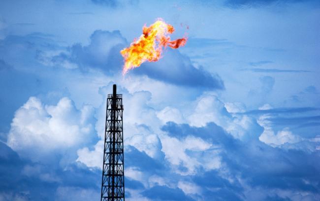 Фото: добыча газа немного упала