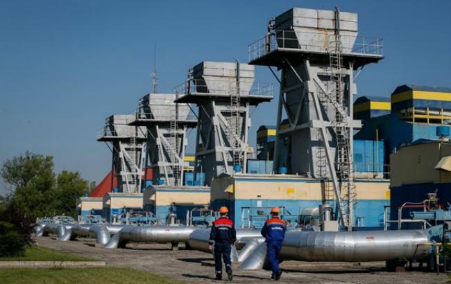 Фото: добыча газа в Украине немного сократилась