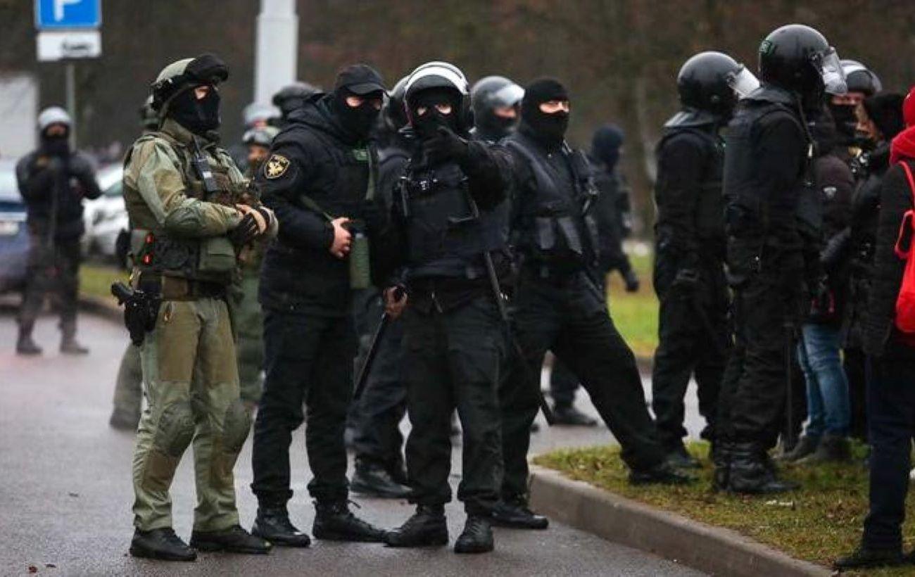 Протесты в Минске: силовики задержали почти 40 участников