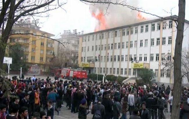 Фото: акция протеста в Газиантепе