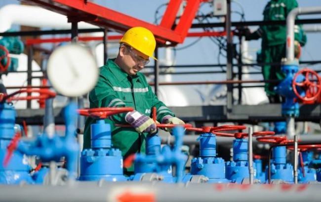 Кількість газу в ПСГ України скоротилася на 0,01% - до 7,707 млрд куб. м