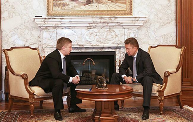"""""""Нафтогаз"""" і """"Газпром"""" обговорили умови закупівлі газу в I кв. 2016"""