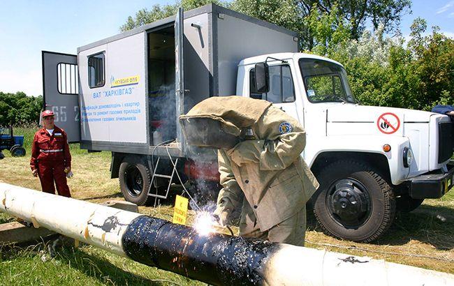 Фото: ремонт газопровода (104.ua)