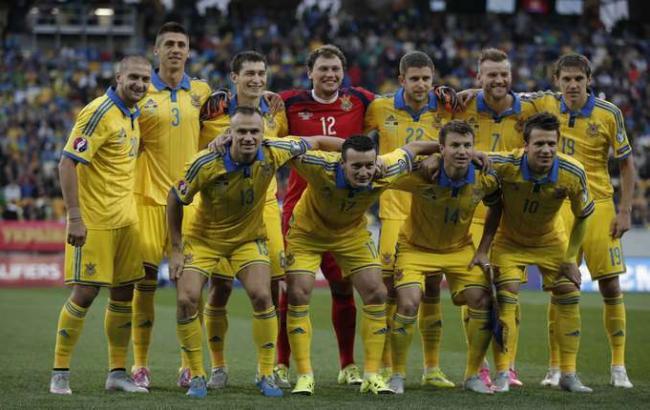 Фото: Украина предварительно попала в группу B