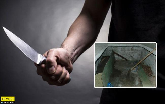 Под Николаевом раненого мужчину заживо залили цементом (фото)