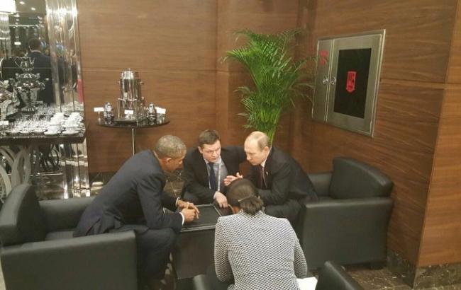 Саммит G20: Путин и Обама 20 минут общались в кулуарах