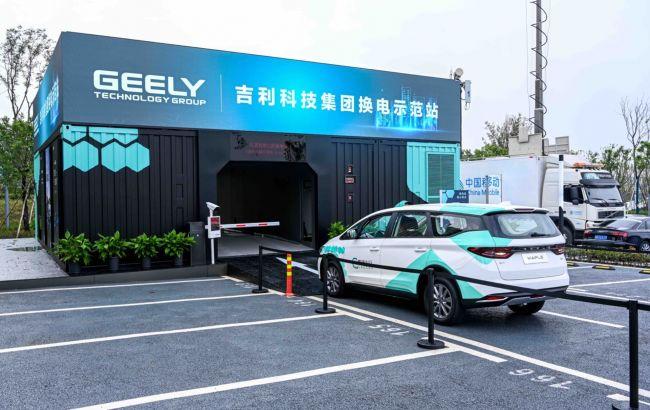 Зарядити електромобіль за хвилину: китайці створюють найбільшу в світі мережу станцій по заміні батарей