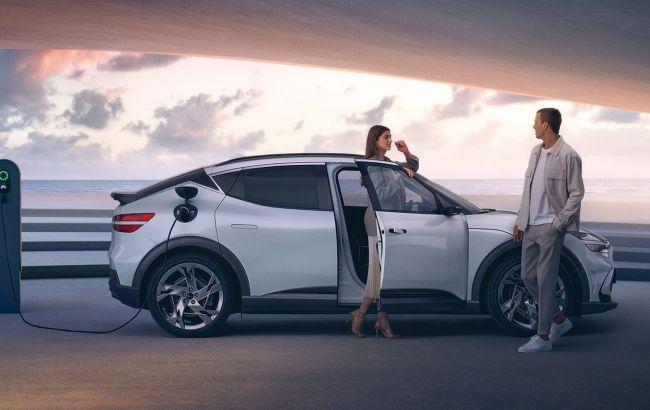 Hyundai полностью рассекретила электрический кроссовер Genesis с зарядкой за 18 минут