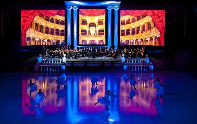 "Шоу ""Опера на льду"" (фото: пресс-служба)"