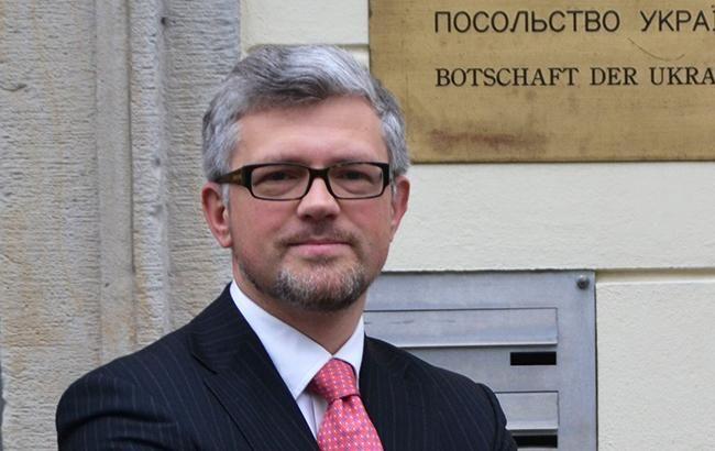 Андрей Мельник, посол в Берлине, обвинил депутатов Германии в ...