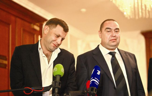 Фото: Александр Захарченко и Игорь Плотницкий