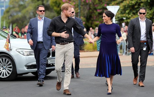 Принц Гарри показал личное фото беременной Меган Маркл