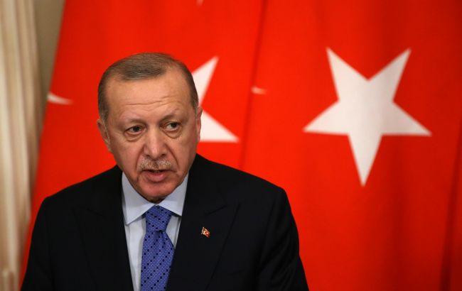 Ердоган оголосив райони лісових пожеж у Туреччині зонами лиха