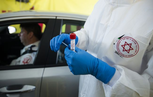 В Ізраїлі зафіксували найбільшу кількість COVID-випадків з початку пандемії
