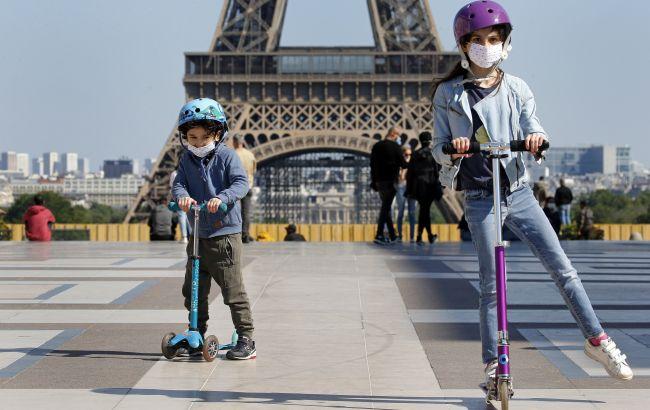 Во Францииудвоилась заболеваемость COVID-19 среди детей