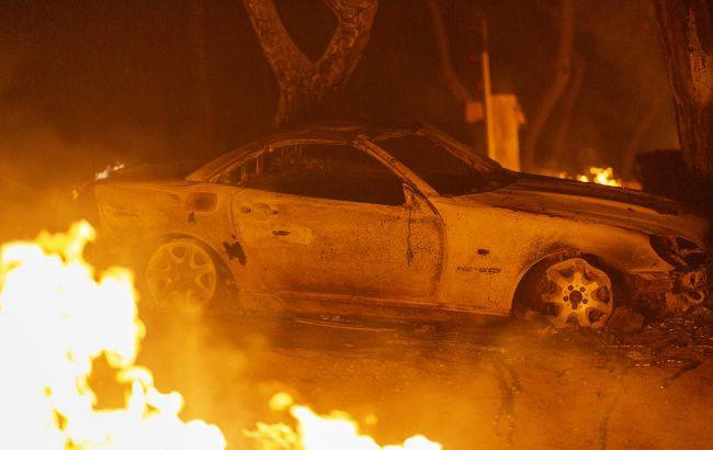 В Берлине сожгли автомобиль польского дипломата