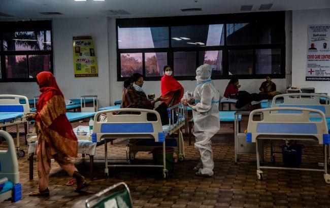 В Індії рекордне у світі зростання числа випадків COVID-19 за один день