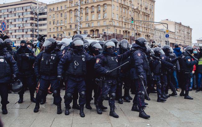 Протести в Росії: сьогодні затримали вже понад 100 осіб