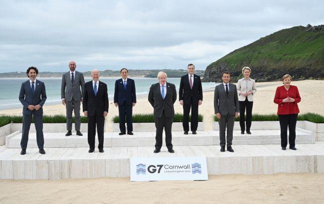 Лидеры G7 призвали Россию и Китай прекратить дестабилизацию и уважать права человека