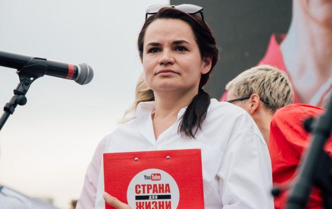Тихановская заявила о неформальной встрече с Зеленским в Литве