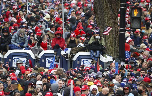 Протести в США: Конгрес рахує голоси на тлі мітингу