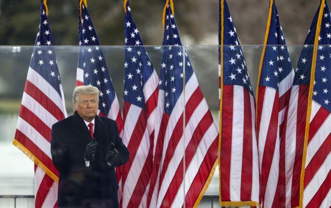Трамп в воскресенье впервые публично выступит после ухода с поста президента США