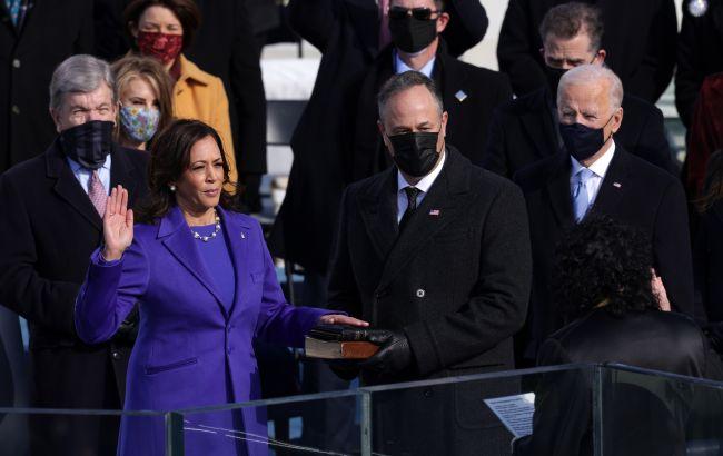 Перша жінка віце-президент США. Камала Харріс вступила на посаду