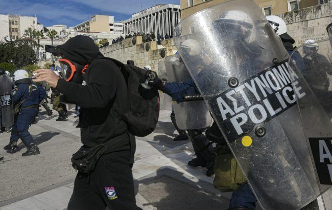В Афінах поліція жорстко розігнала студентський протест