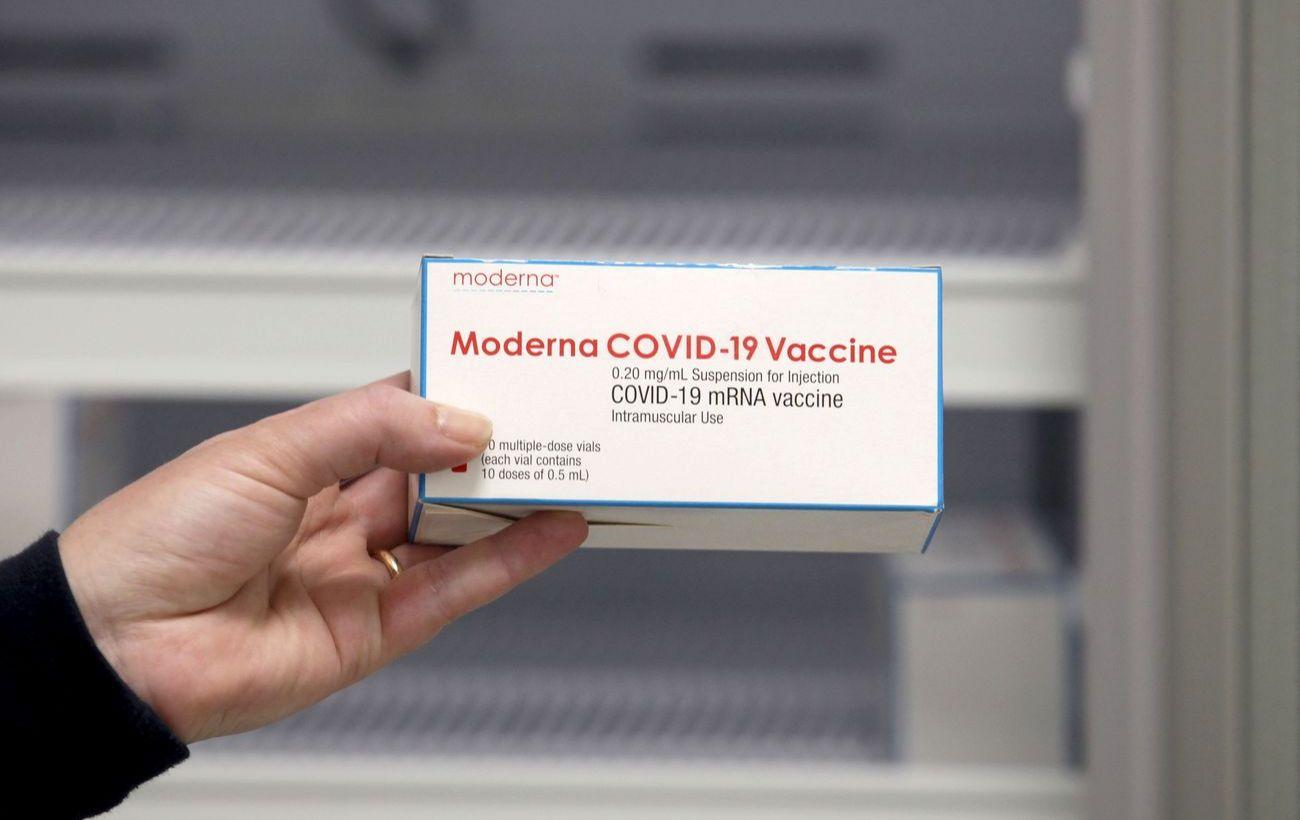 В Японии могут запретить вакцину Moderna для молодых мужчин