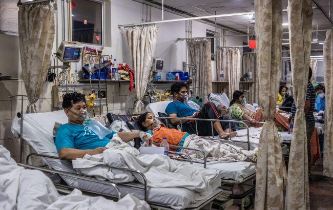 В Индии новый рекорд смертности от COVID и почти 400 тысяч новых случаев заражения