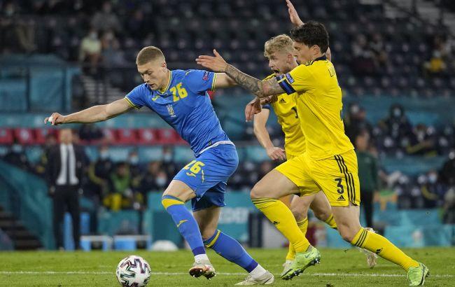 Сборная Украины установила два рекорда на победном матче против Швеции