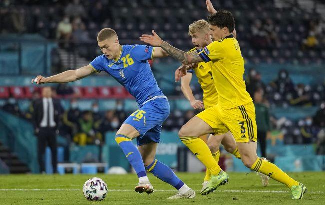 Это не показали по ТВ: появилось неожиданное видео с матча Украина - Швеция