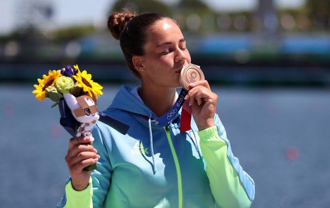 Лузан завоювала бронзу у веслуванні на Олімпіаді-2020