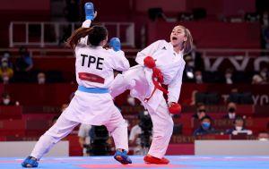 Терлюга взяла историческое серебро по карате на Олимпийских играх