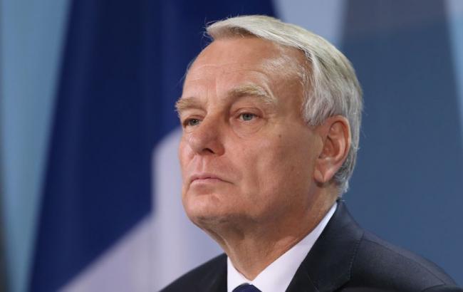 Фото: министр иностранных дел Франции Жан-Марк Эйро