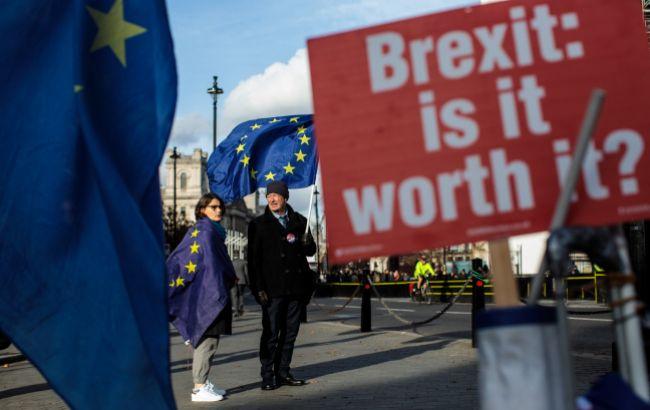 Массовая демонстрация противников Brexit проходит в Лондоне