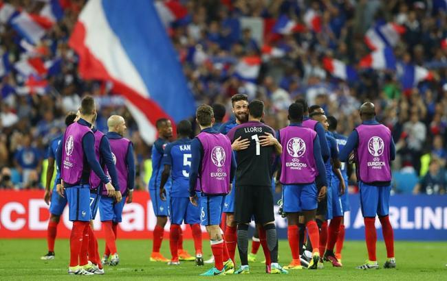 Франция - Румыния: Хозяева Евро с трудом добывают победу