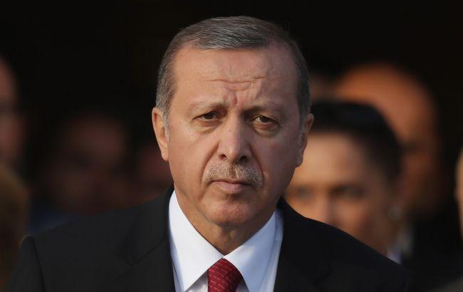 Эрдоган назвал условия завершения наступления в Сирии