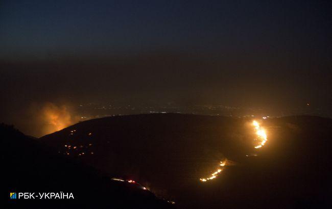 В Ізраїлі через аномальну спеку вирують пожежі