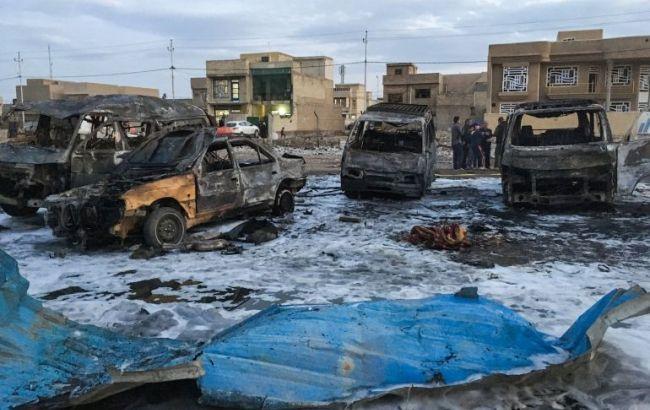 Фото: теракт у Багдаді