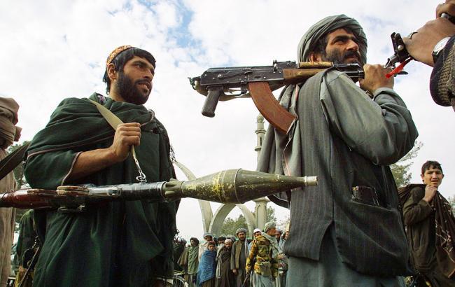 """Фото: боевики """"Талибана"""" (Paula Bronstein/Getty Images)"""
