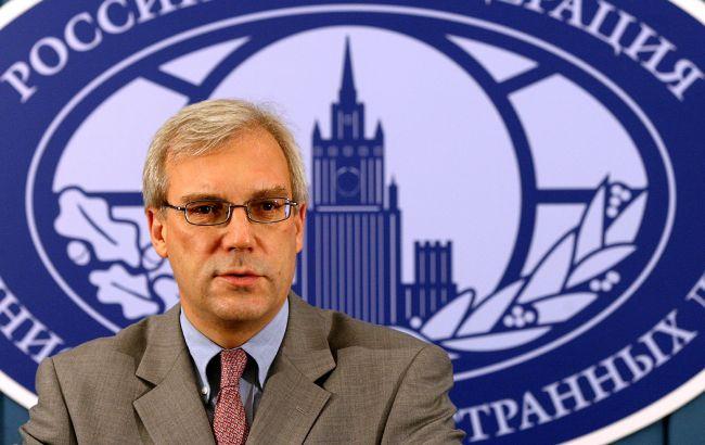 У МЗС РФ назвали умову транзиту газу через Україну після 2024 року