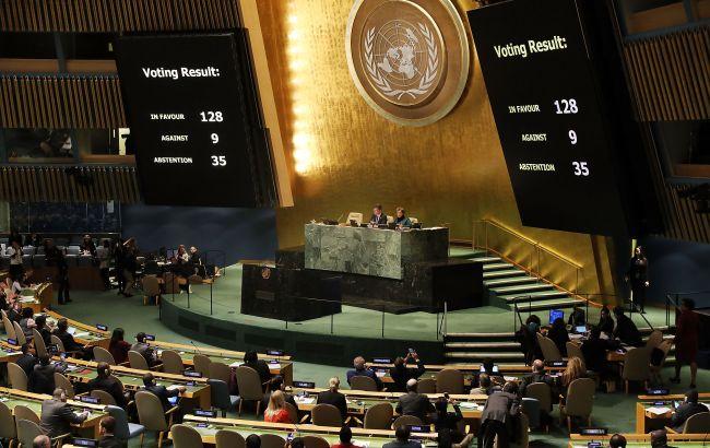 Генассамблея ООН поддержала усиленную резолюцию Украины по Крыму