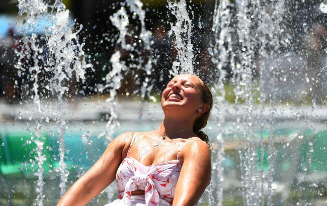 Фото: жара в городе (Getty Images)