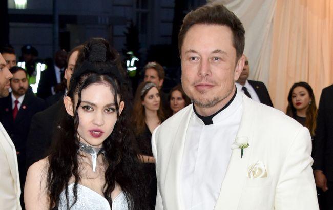 Ілон Маск порвав з українсько-французькою співачкою Grimes після трьох років стосунків