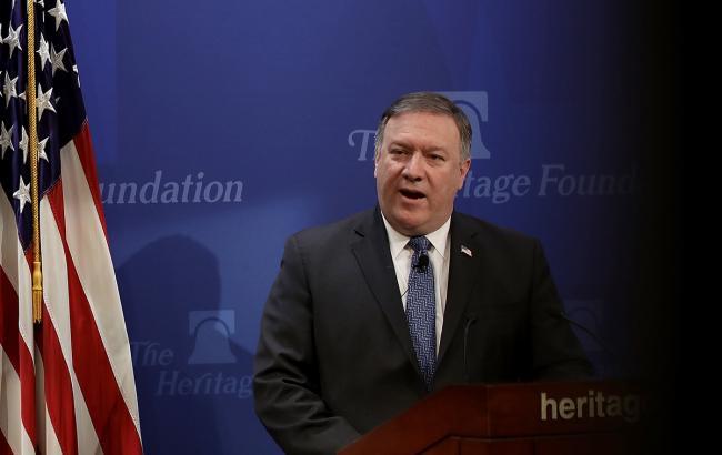"""США будут работать с Украиной, чтобы остановить проект """"Северный поток-2"""", - Помпео"""