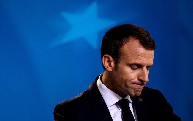 У Франції затримали групу людей, що планували напад на Макрона