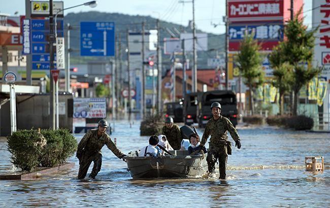 Фото: повінь в Японії (gettyimages.com)