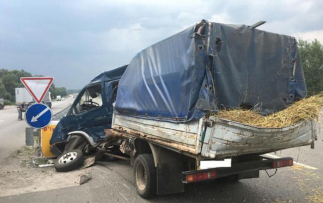 Полтавской области грузовик