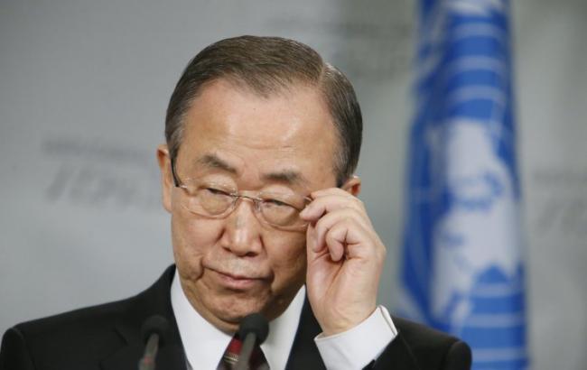 Фото: генеральний секретар ООН Пан Гі Мун зробив заяву до дня проти смертної кари